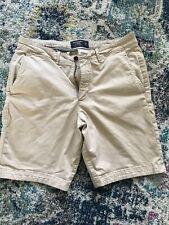Abercrombie & Fitch Men's Khaki Shorts-Size 32