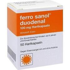 FERRO SANOL duodenal Hartkaps.m.msr.überz.Pell. 50 St PZN: 1444696