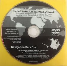 GMC GM Satellite Navigation GPS System Map CD Maps Disc 20857425U Ver 4.10C OEM