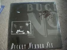 SEALED, BUCKET NUMBER SIX, PRIVATE LABEL, (RARE) SEALED LP