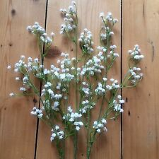 Artificial Gypsophila. Realistic Faux Bunch of Baby's Breath, Wild Flowers