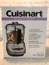 Cuisinart - Mini-Prep Plus 3-Cup Food Processor - Silver DLC-2ABC