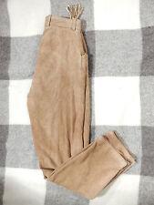 DISTLER Damen Trachtenlederhose Gr 36 sehr weiches Leder helles braun