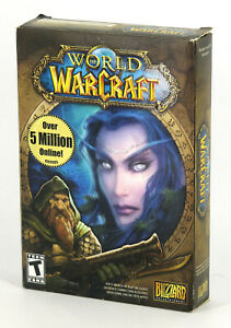 World of Warcraft - PC/MAC (2004; Blizzard Entertainment; Standard Edition)