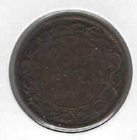 1900H Canada One Cent Coin F-15
