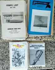Large Lot of Vintage Military Catalogs And Magazines