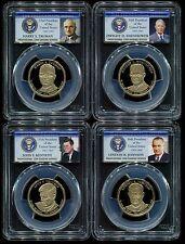 2015 S Presidential Dollar 4 Coin Proof Set PCGS PR69 DCAM $1
