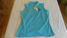 1 NWT CALLAWAY WOMEN'S GOLF SHIRT, SIZE: LARGE, COLOR: BLUE ATOLL  **B151