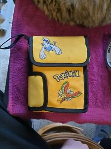 Yellow Pokemon Genuine Nintendo Game Boy Color Carrying Case Pouch Lugia Ho-Oh