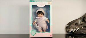 "Corolle Vintage Mini Baby Doll Asian 8"" Les Minis NEW Rare"