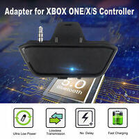 Bluetooth 5.0 Stereo Headset Adapter 3.5mm Jack for XBOX ONE/X/S Game Controller