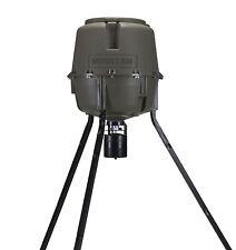 Moultrie 30 Gal Adjustable Height Quick-Lock Elite Tripod Deer Feeder, MFG-13062