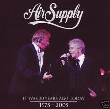 AIR SUPPLY - IT WAS 30 YEARS AGO TODAY : LIVE CD *NEW*