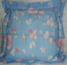 PRECIOUS MOMENTS BLUE FLORAL PILLOWSHAM BEDDING NEW