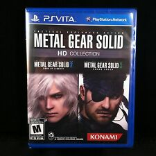 Metal Gear Solid HD Collection  (PS Vita, 2012) BRAND NEW / Region Free