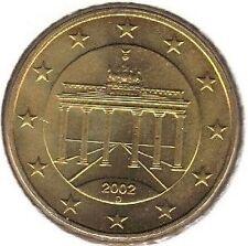 50 centimes - ALLEMAGNE - 2002 - Lettre: D // Neuve