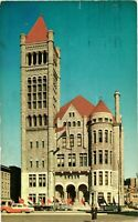 Vintage Postcard - City Hall Building Syracuse Posted 1961 New York NY #3809