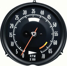 1972-74 Corvette Tach 6500 Red Line
