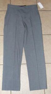 NEW NWT Boys XL / 18 Gray Church or School Slim Fit Dress Pants CALVIN KLEIN