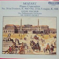 Mozart(CD Album)Piano Concertos 20 & 23-Priceless-US-New