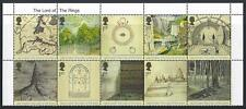 GREAT BRITAIN 2004 LORD OF THE RINGS TITLE SET OF 10 UNMOUNTED MINT. MNH