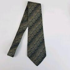 """Mondo di Marco Mens Tie Gray Blue Woven 100% Silk 56"""""""