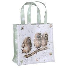 Nuevo wrendale Con Dibujo De Búho Pequeño Bolso De Shopping Bag Pimpernel de Royal Worcester
