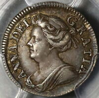 1708 PCGS XF 45 Anne 2 Pence Great Britain Silver 1/2 Groat Coin (20101901C)