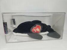 Authenticated Ty Beanie Baby Rare Splash Korean 1st/1st Gen MWNMT!