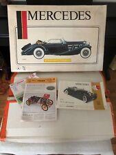 Pocher 1935 Mercedes 500 K-AK Cabriolet 1/8 Scale Detailed Model kit Started