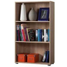 Libreria modulare ufficio studio tre vani rovere sonoma LB2885 L70h119p30