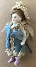 Antique All Bisque Early German Doll