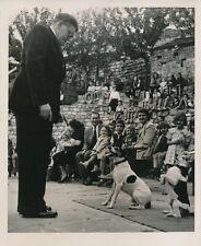 Cirque de Montmartre 1952 - Spectacle Enfants Poulbots Chiens Dressés  - PR 36