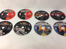 Star Wars-PC Game Bundle- For Windows '95 and '98 X-Wing-Jedi Knight-Force Comma