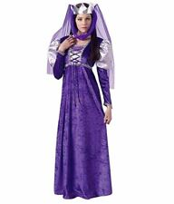 Rubie's Women's Renaissance Queen Costume,Purple, Standard (fits up to size 12)