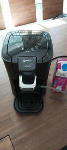 PHILIPS Senseo HD 7855/59 Latte Duo Padmaschine für 2 Tassen Milchaufschäumer