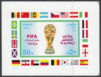 Egypt Hojas Yvert 51 MNH World Cup Of Football - Sports