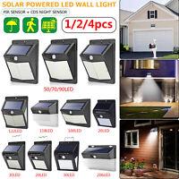 20-206LED Solar Luz de Pared Sensor de Movimiento Impermeable Jardín Iluminación