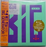 Yes - Big Generator + 5 Bonustracks MLPS Japan SHM-CD WPCR-13529 NEW First Press