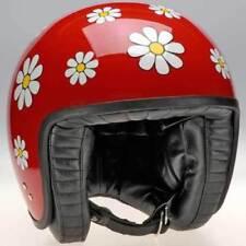 Cagoules, masques et tubes rouge Davida casques jet pour casques et vêtements pour véhicule
