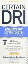 Certain Dri A.m Solid Antiperspirant/Deodorant 2.6 Oz (2 Pack)