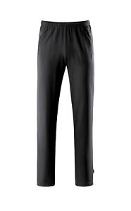 Schneider Sportswear Vaduz black S - Sweathose Herren Kurhose Trainingshose