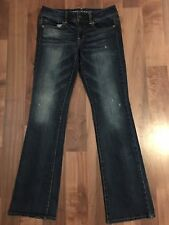 NWOT Women's American Eagle AE Jeans Size 4 Kick Boot Stretch Slight Distress