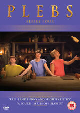 Plebs: Series 4 DVD (2018) Tom Rosenthal ***NEW***