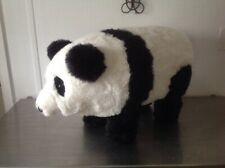 Panda Soft Foot Stool Faux Fur Table Night stand coffee table foot rest