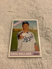 2015 Topps Heritage Baseball Card #476 Greg Holland SP Royals