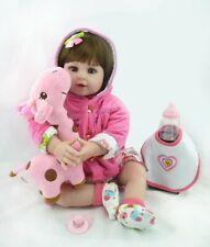 Reborn Baby Dolls 22 inch Girls Pinky Reborn Toddler Girls Dolls that Look Real