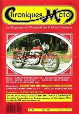 CHRONIQUES MOTO 16 VELOCETTE THRUXTON 500 HARLEY DAVIDSON K750 GUZZI GALETTO BMW