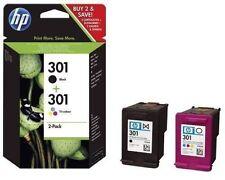HP 301 Pack de 2 Cartouches d'encre d'origine - Cyan/Magenta/Jaune/Noir