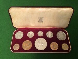 1953 Royal Mint Coronation Proof Coin Set